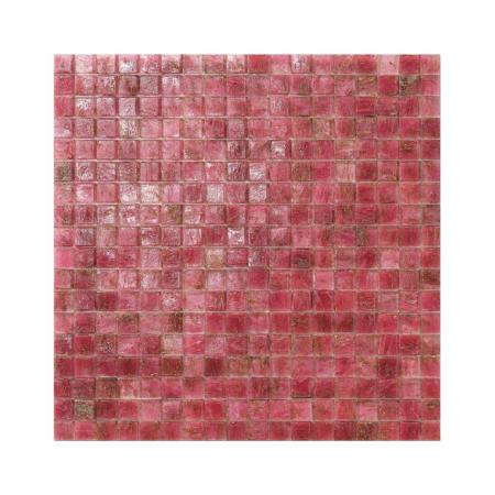 Różowa mozaika ze szkła GIAMAICA