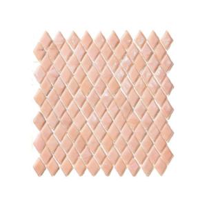Różowa mozaika ze szkła NATROLITE