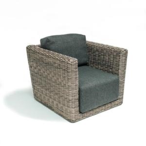Rattanowy fotel ogrodowy