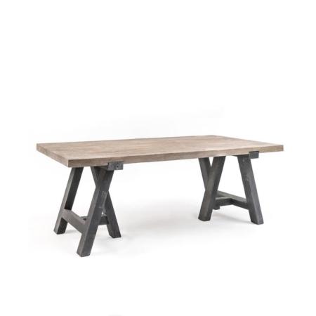 Rustykalny stół z drewna TABLE SHRAGI