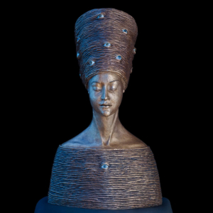 Rzeźba z brązu Achtsame Małgorzata Chodakowska