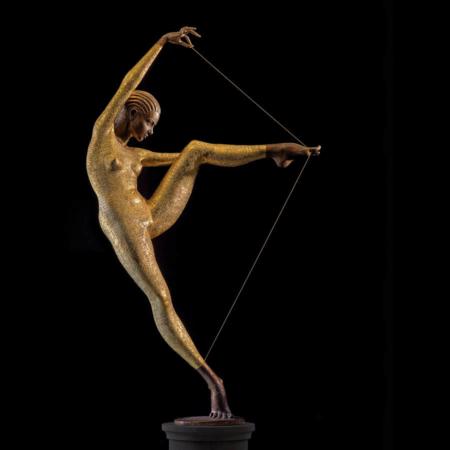 Rzeźba z brązu Con Amore Małgorzata Chodakowska