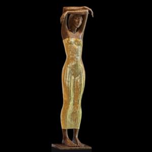 Rzeźba z brązu Die Traeumende Małgorzata Chodakowska