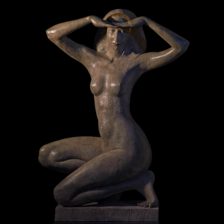 Rzeźba z brązu Fata Morgana Małgorzata Chodakowska