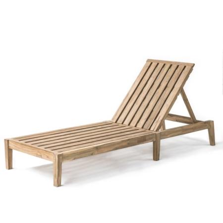 Skandynawski leżak ogrodowy COPENHAGUE