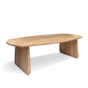 Stół z jasnego drewna VINCENT