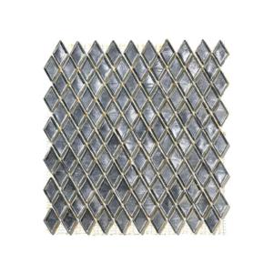 Szara mozaika ze szkła CULLINAN