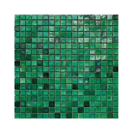 Szmaragdowa mozaika ze szkła EMERALD J