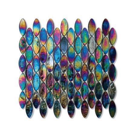 Tęczowa mozaika ze szkła DOMES 246 VELVET