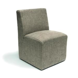 Tapicerowane krzesło na kółkach JERRY