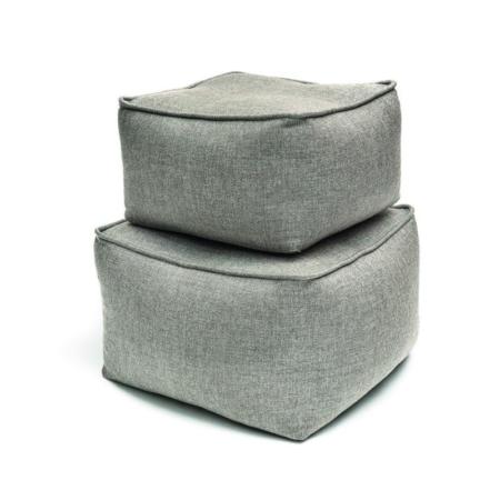 Tapicerowane pufy ogrodowe
