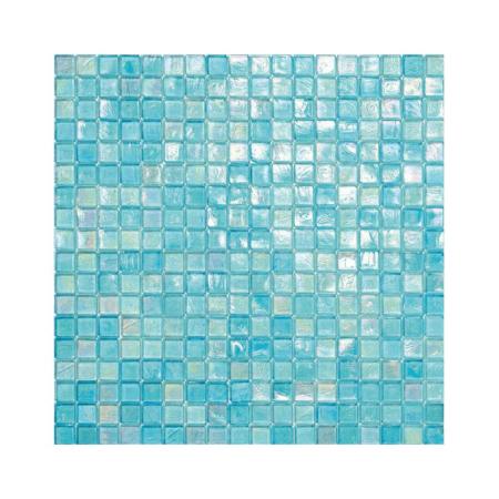 Turkusowa mozaika ze szkła 141 BLACKCURRANT