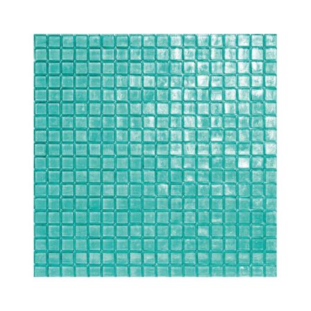 Turkusowa mozaika ze szkła 16 HIGHDIVE