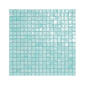 Turkusowa mozaika ze szkła 41 BREEZE