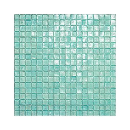 Turkusowa mozaika ze szkła 42 WATERFALL