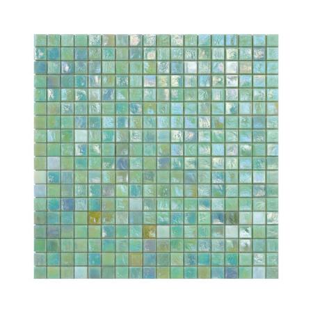 Turkusowa mozaika ze szkła CALICANTUS 1