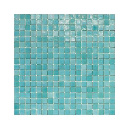 Turkusowa mozaika ze szkła DEW
