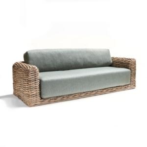Wiklinowa sofa ogrodowa DORAN