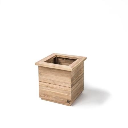 Zewnętrzna, drewniana donica ogrodowa FERDY
