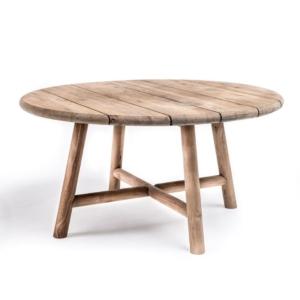 Zewnętrzny stół ogrodowy z drewna LYDIA