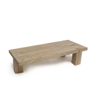 Zewnętrzny stolik kawowy z drewna DOVETAIL