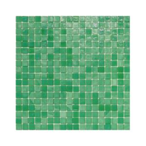 Zielona mozaika ze szkła 15 MINUANO