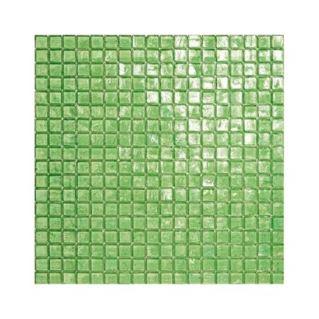 Zielona mozaika ze szkła 17 MERMAID