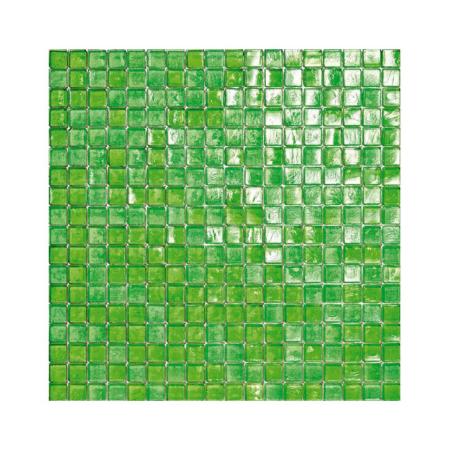 Zielona mozaika ze szkła 18 MINTLEAVES