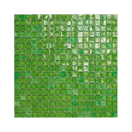Zielona mozaika ze szkła 25 SPRING