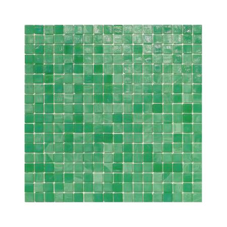 Zielona mozaika ze szkła CHERVIL