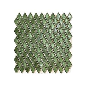 Zielona mozaika ze szkła GERAIS