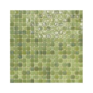 Zielona mozaika ze szkła LICHEN