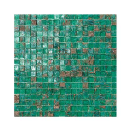 Zielona mozaika ze szkła MALDIVE