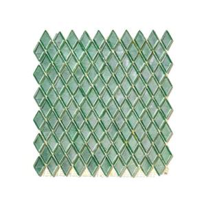 Zielona mozaika ze szkła MAZARU