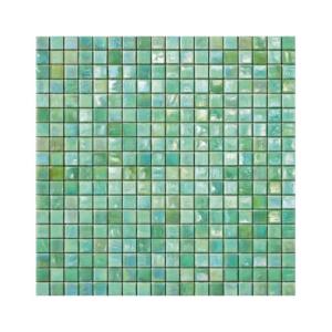 Zielona mozaika ze szkła MINT 2