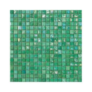 Zielona mozaika ze szkła MINT 3