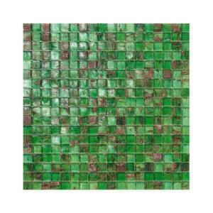 Zielono-brązowa mozaika ze szkła IRLANDA
