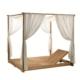 Łóżko zewnętrzne z baldachimem Essenza