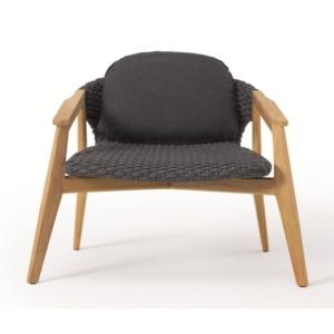 Nowoczesny fotel ogrodowy Knit