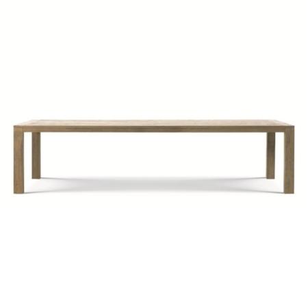 Nowoczesny stół ogrodowy z drewna Costes