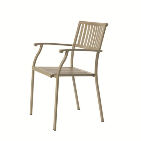 Ogrodowe krzesła z podłokietnikami Elisir