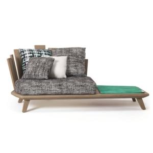 Ogrodowy fotel ze stolikiem Rafael