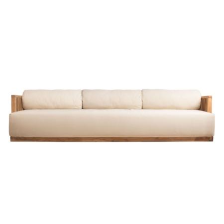3-osoba sofa ogrodowa tapicerowana Code
