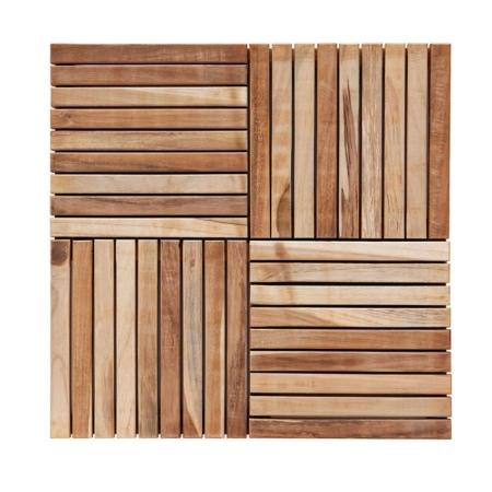 Drewniane płytki ogrodowe Teak Tiles 1