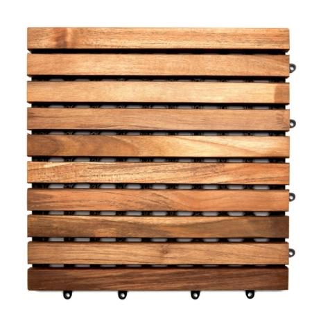 Drewniane płytki ogrodowe Teak Tiles 2