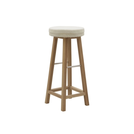 Drewniany stołek barowy zewnętrzny Savana