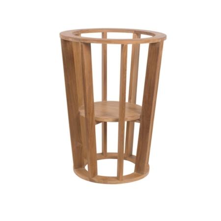 Drewniany stojak na donicę zewnętrzny Remix