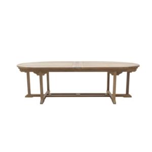 Duży owalny stół ogrodowy Olimpo Classica