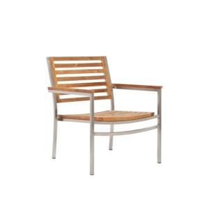 Fotel ogrodowy Teak Berbeda