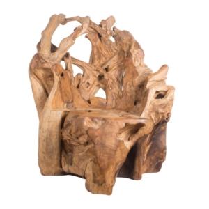 Fotel ogrodowy z korzenia Radice
